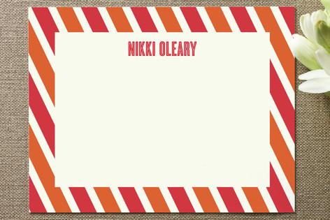 Candy Stripe Business Stationery