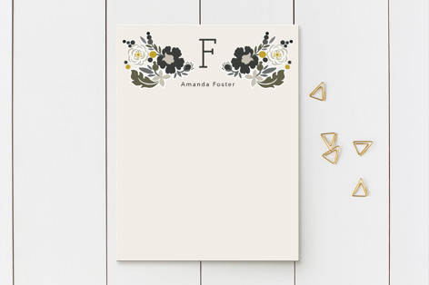 Clean Cut Florals Business Stationery