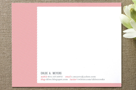 Double Take Business Stationery