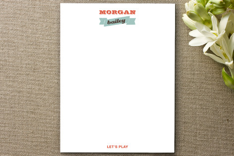 Let's Play Appointment Card Business Stationery