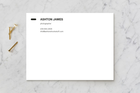 Manual Business Stationery