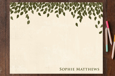 Green Leaves Business Stationery