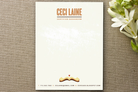 Open Book Business Stationery