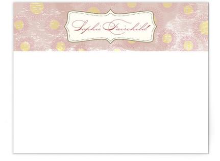 Vintage Bloom Business Stationery Cards