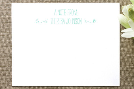 A Pleasure Business Stationery