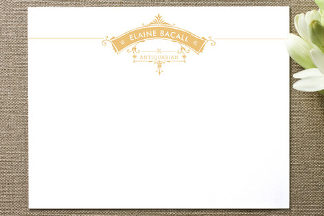 Antique Frame Business Stationery