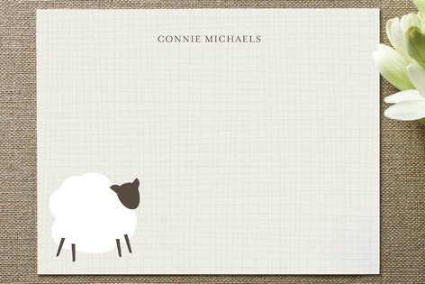 Country Crafts Personalized Stationery