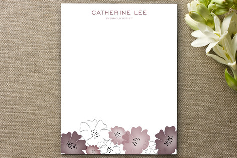 Floriculturist Business Stationery