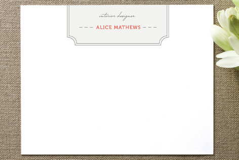 Ikat Design Business Stationery