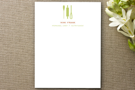 Personal Chef Business Stationery