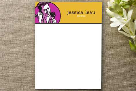 Retro Chatterbox Business Stationery