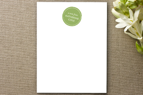 Stamp and Stripe Business Stationery