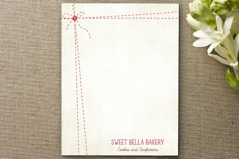 Baker's Twine Business Stationery