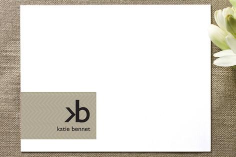 Monogram Logo Business Stationery