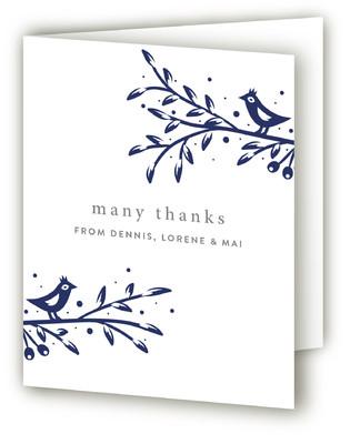 Tweet Tweet Birth Announcements Thank You Cards