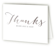 Script Welcome Birth Announcements Thank You Cards