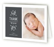 Cafe Baby Birth Announcements Thank You Cards