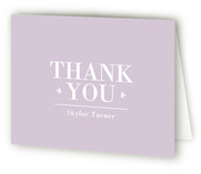 Tiny Elegance Birth Announcements Thank You Cards