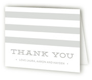 Simple Stats Birth Announcements Thank You Cards