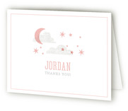 Little Dreamer Birth Announcements Thank You Cards