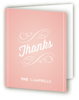Heirloom Scroll Birth Announcements Thank You Cards