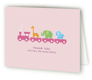 New in Town Birth Announcements Thank You Cards