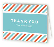 Modern Multiples Birth Announcements Thank You Cards