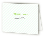 O' Baby Baby Birth Announcements Thank You Cards