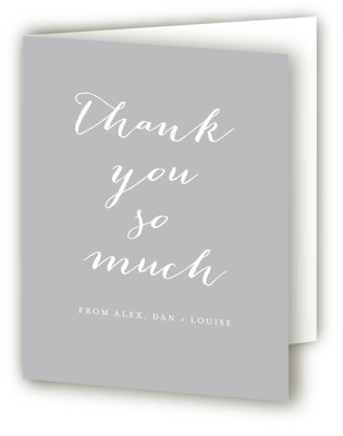 chic baby Birth Announcements Thank You Cards