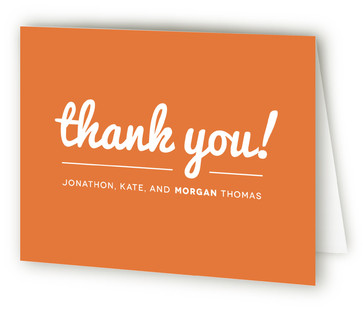 Baby Talk Birth Announcements Thank You Cards