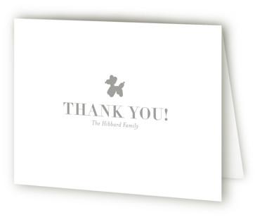 Sweet Grid Birth Announcements Thank You Cards