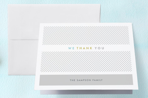 Business Attire Birth Announcements Thank You Cards