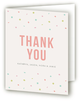 Hurray! Birth Announcements Thank You Cards