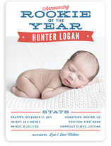 Rookie Of The Year Birth Announcements