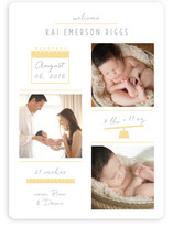 Checkers Birth Announcements