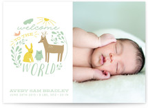 Welcome Sweet Baby Birth Announcements