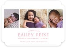 Blissful Birth Announcements