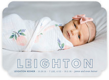 Tailored Birth Announcements