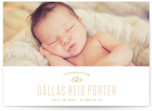 Introducing Baby Birth Announcements