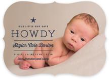 Howdy Birth Announcements