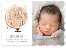 How Wonderful Birth Announcements