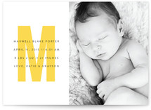 The Modernist Birth Announcements