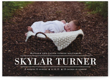 Tiny Elegance Birth Announcements