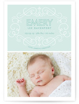 Embellished Birth Announcements