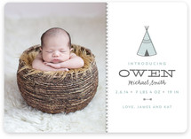 Tiny Tipi Birth Announcements