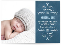 Sweet Star Birth Announcements
