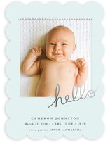 Sewn in love Birth Announcements