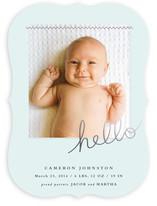 Sewn in love Birth Announcements