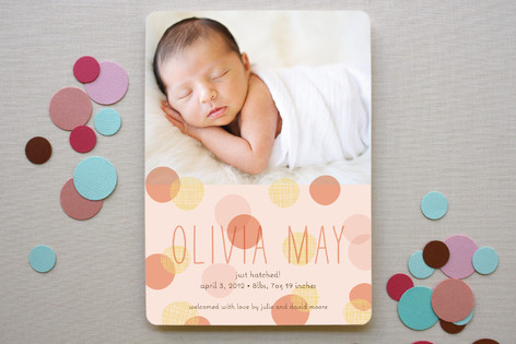 Spring Hatch Birth Announcements