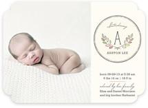 Baby Laurels Birth Announcements